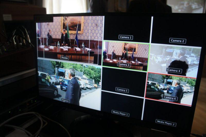 Servizio di regia multicamera di Simovie