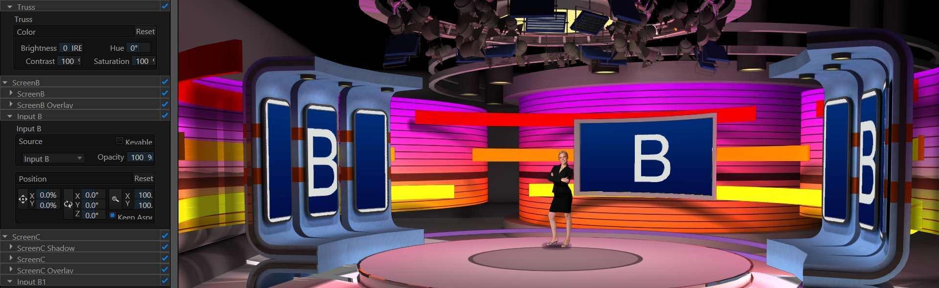 Registrare video corso portale – sala green screen chromakey Roma